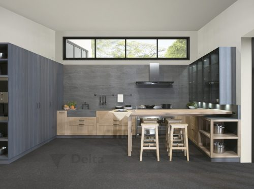 imagen propiedad de delta cocinas baño habitat